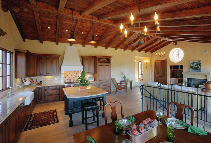 Santa Barbara style kitchen design and build