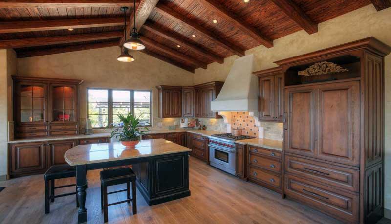 Santa Barbara Mission Style Kitchen