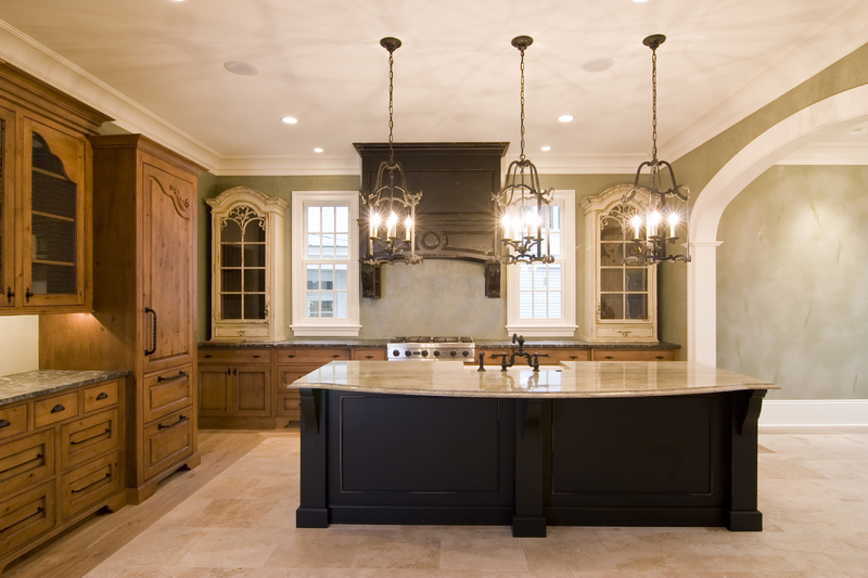 Kitchen design remodel montecito kitchens for Tuscan kitchen designs photo gallery