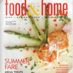 Cover of Magazine Food & Home Santa Barbara